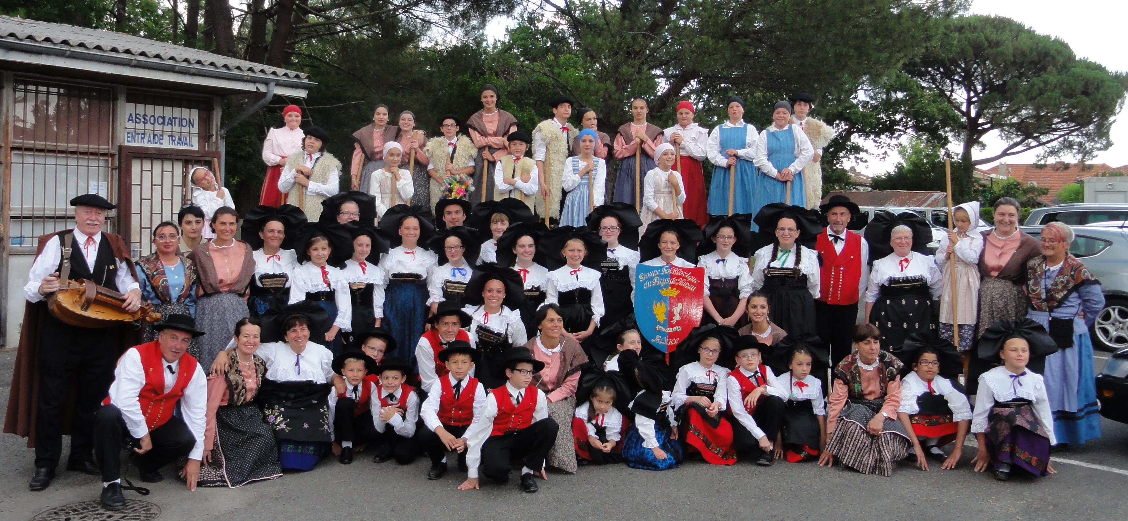 Lous esquirous accueille le pays de Hanau de Bouxwiller (Alsace)